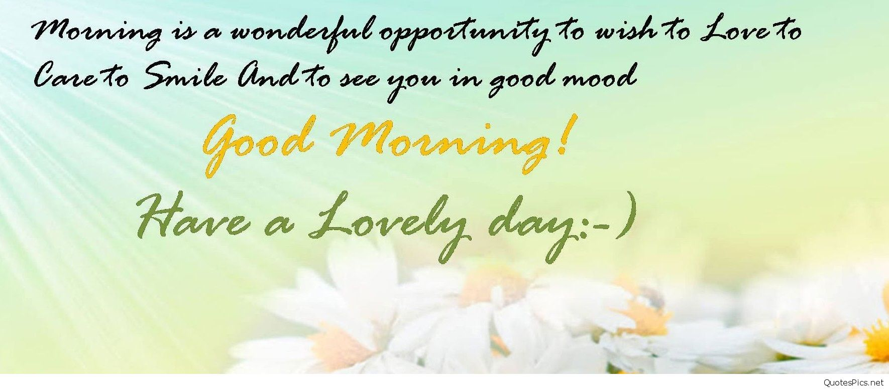Irresistible Good Morning Wishes For Friends With Quote Nice