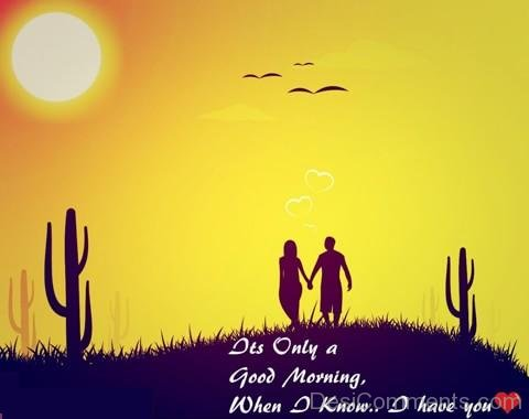 Good Morning Wishes For Her With Extra Ordinary Love