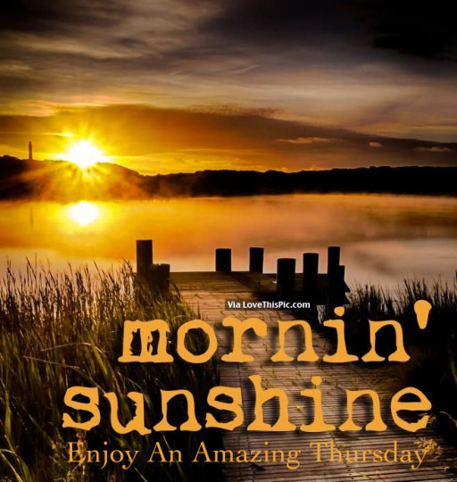 Good Morning Wishes For Sunshine