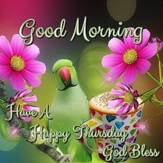 Good Morning Wishes For Thursday With Blessings