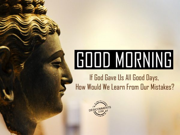 Simply Divine Good Morning Wishes With Peaceful Buddha