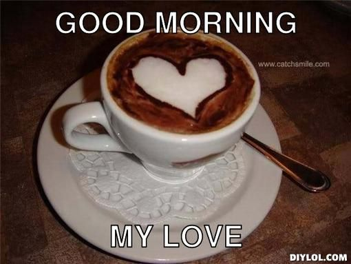 Graceful Good Morning Wishes With Love graceful good morning wishes with cup of coffee and love nicewishes
