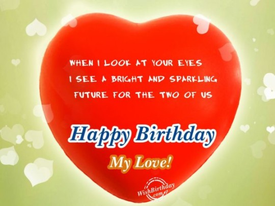 Lovely Birthday Greetings For Loving Person