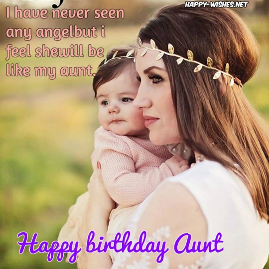 Lovely Birthday Wishes With Graceful Image For Aunt