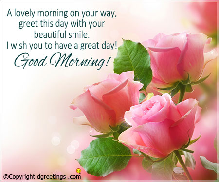 Lovely Good Morning Wishes With Flowers Nice Wishes