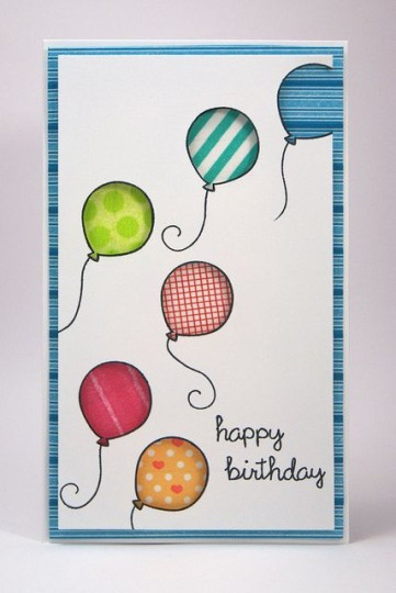 Marvelous Birthday Greeting Card With Handmade Design