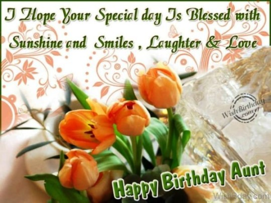 Most Beautiful Birthday Wishes Image For My Aunt