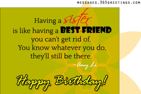 Radiant Birthday Wishes With Greetings For My Sister