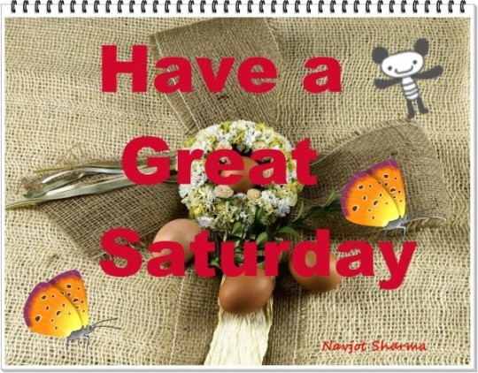 Saturday Good Morning Wishes Withh