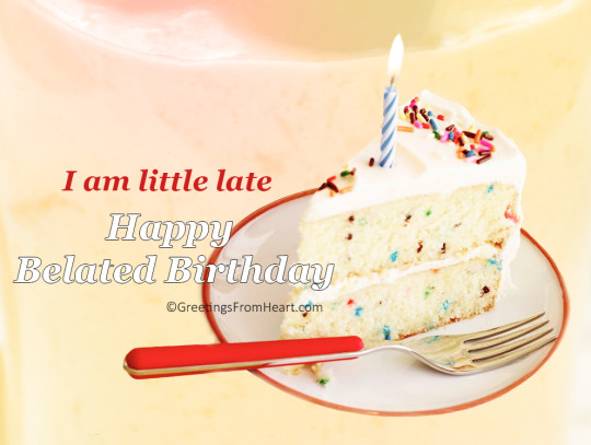 Belated Birthday Wishes For Brother In Law ~ Belated birthday wishes ecards images : page 16