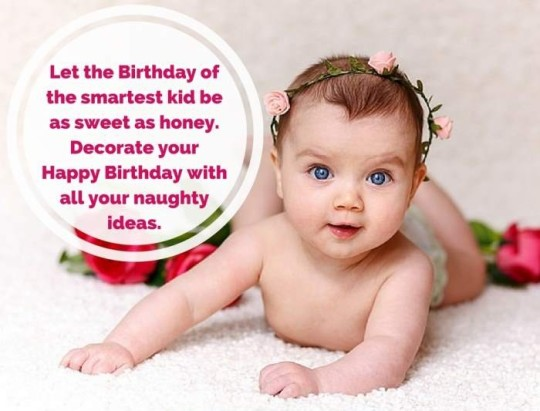 Sweet Birthday Wishes Quotes To My Little Angel