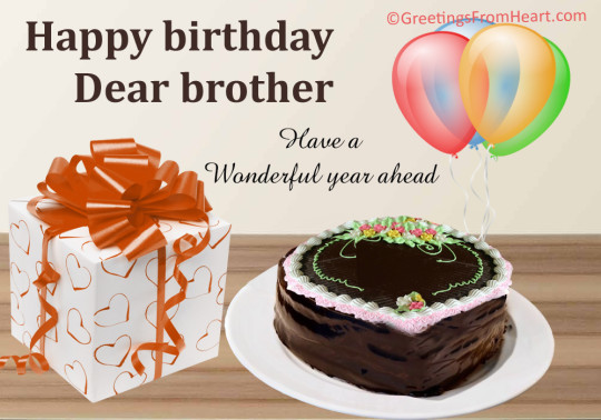 Sweet Touching Cake For You Bro