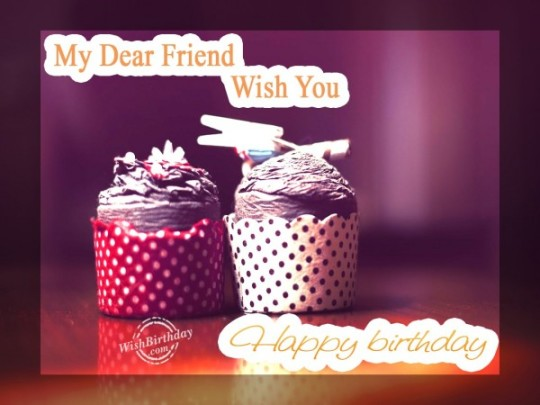Sweetest Birthday Cupcake With Greetings