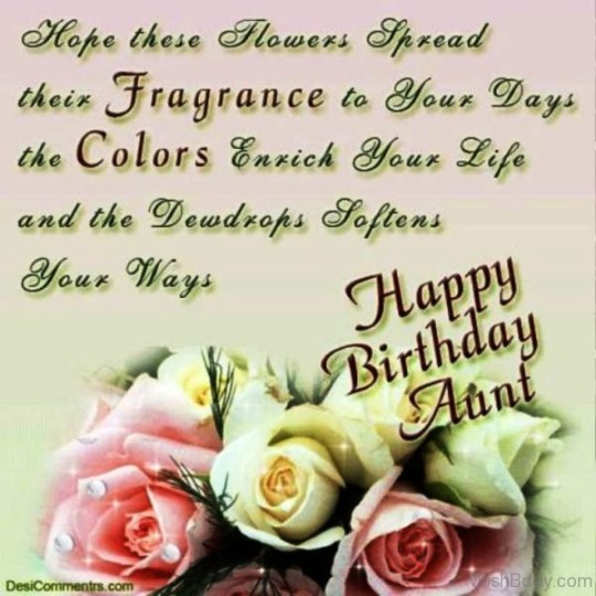 Unique Birthday Wishes For Special Aunt