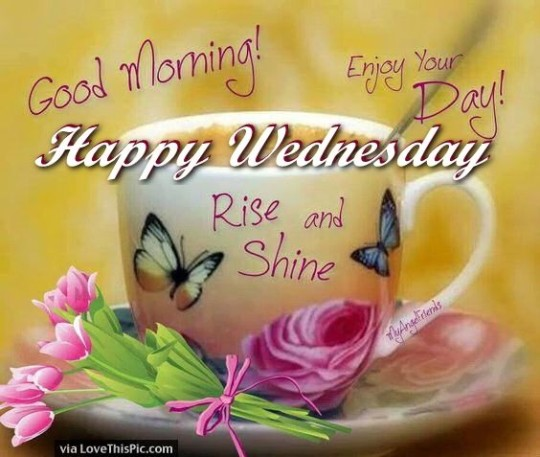Wednesday Good Morning Wishes