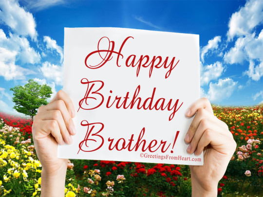 Wishes From Heart Your B'day Bro