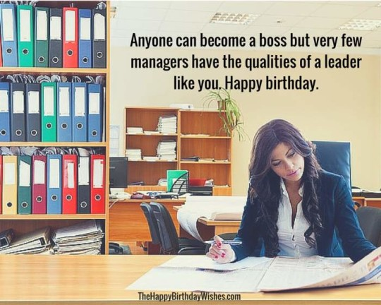 Amazing Images For Birthday Wishes With Sayings E-Card For My Boss E7