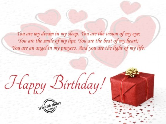 Angel Message Birthday E-Card With Surprising Gift