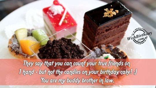 Astonishing Brother In Law Birthday Wishes E-Card