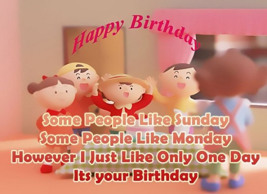 Awesome Birthday Wishes E-Card With Greetings Image For Facebook Friend 7s