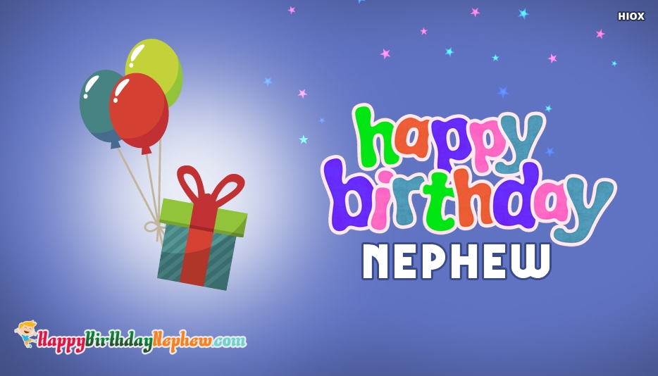 Awesome Brilliant Birthday Greeting Card For Best Nephew E 156jf4jf6uri7s