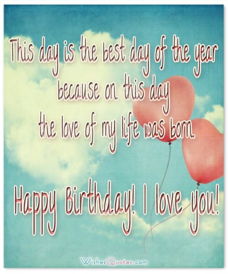 Awesome Images For Birthday Wishes With Sayings E-Card For My Love 7S9sh