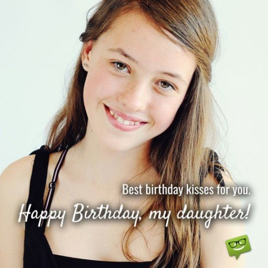 Be Smile Daughter Birthday Card