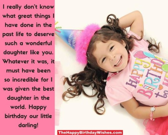 Beautiful Daughter Birthday Wishes With Greetings Message E-Card (2)