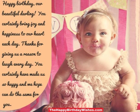 Beautiful Daughter Birthday Wishes With Greetings Message E-Card