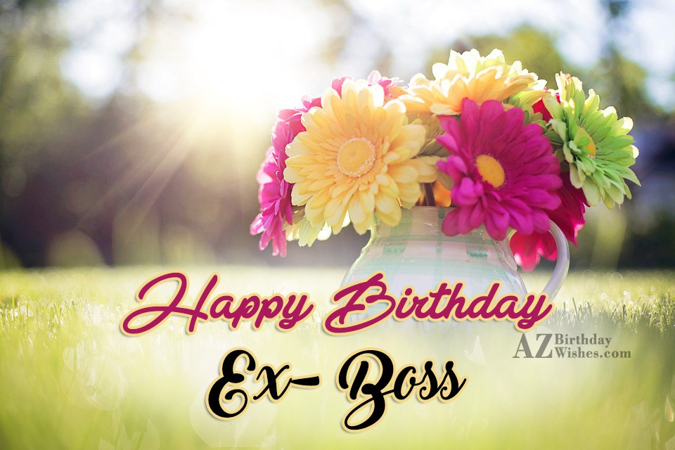 Wonderful birthday wishes with greeting flowers for boss nicewishes beautiful flowers for ex boss birthday wishes m4hsunfo Image collections