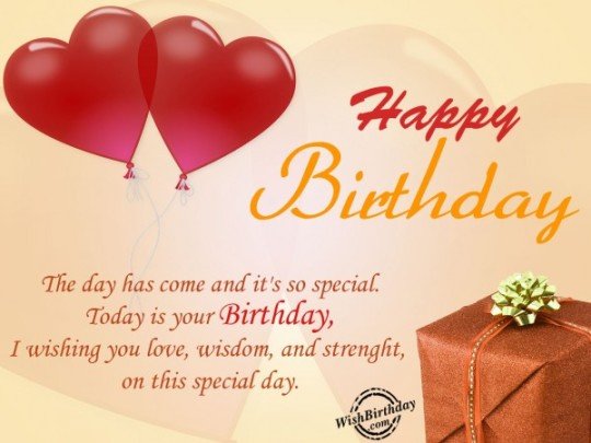 Beautiful  Images For Birthday Wishes With Sayings E-Card For My Love 7S9sh