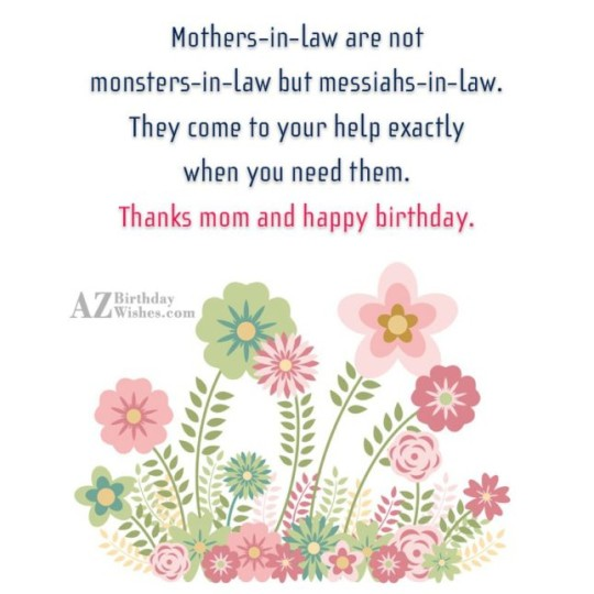 Best Birthday Wishes With Greeting E-Card For MY Mother In Law 962 (25)