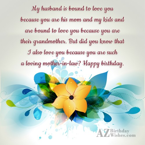 Best Birthday Wishes With Greeting E-Card For MY Mother In Law 962 (26)