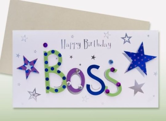 Best Ever Images For Birthday Wishes With Sayings E-Card For My Boss E7