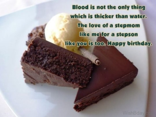 Best Ever Stepson Birthday Wishes Saying E-Card