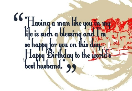Birthday Wishes With Greetings For Best Husband