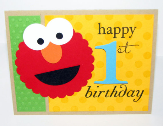 Charming 1st Birthday Wishes With Balloons E-Card 7s