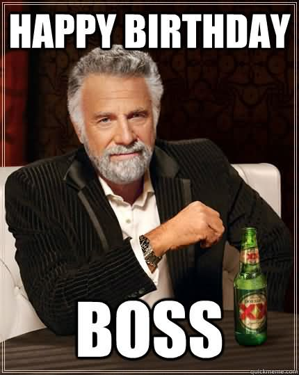 Charming Images For Birthday Wishes With Sayings E-Card For My Boss E7