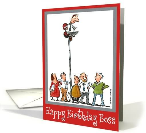 Classic Card Images For Birthday Wishes With Sayings E-Card For My Boss E7