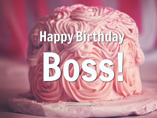 Creamy Cake Images For Birthday Wishes With Sayings E-Card For My Boss E7