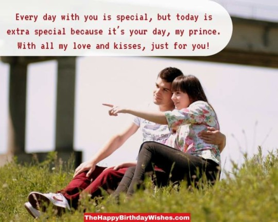 Creative Boyfriend Birthday Wishes With Nice Image For You