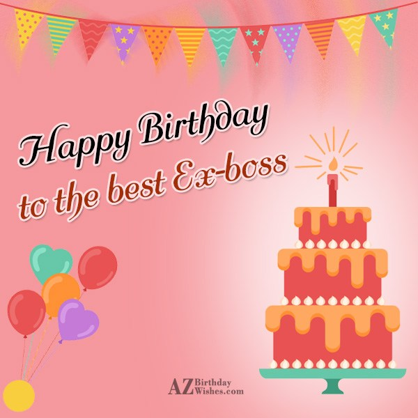 Delightful ex boss birthday wishes with cake nicewishes delightful ex boss birthday wishes greeting e card m4hsunfo