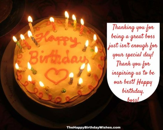 Delightful Images For Birthday Wishes With Sayings E-Card For My Boss E7
