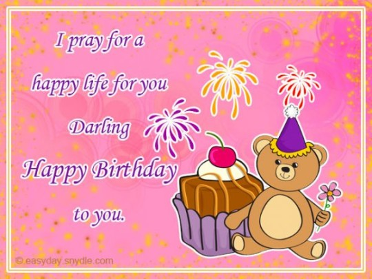 Delightful Images For Birthday Wishes With Sayings E-Card For My Life