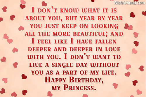 Endless Images For Birthday Wishes With Sayings E-Card For My Life