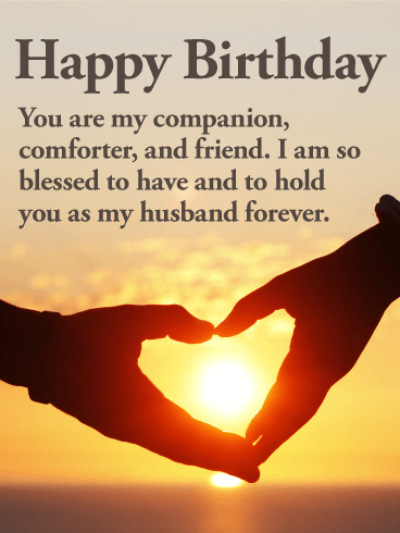 Ever Happiness Birthday Husband E Card Greeting 2