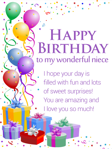 grateful birthday wishes quotes for niece nice wishes