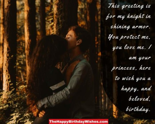 Ever Love Birthday Message E-Card For A Nice Couple