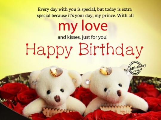 Eye Love Message Birthday Wishes E-Card For Boyfriend _54swg4d7s