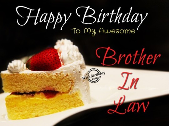 Fabulous Bro Birthday wishes With Sweet Image